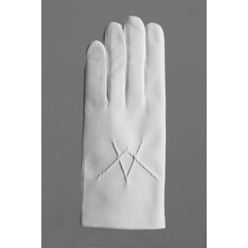 Le gant de Franc-Maçonnerie