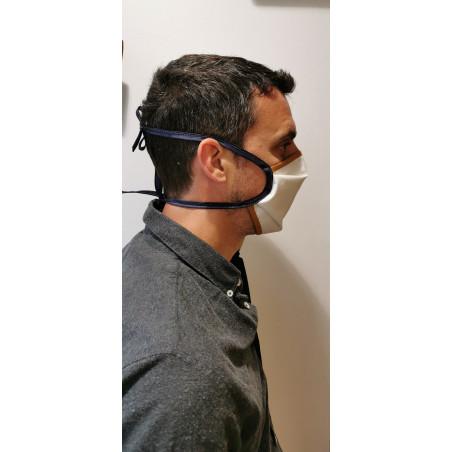 profil de masque en tissu - Atelier du Gantier