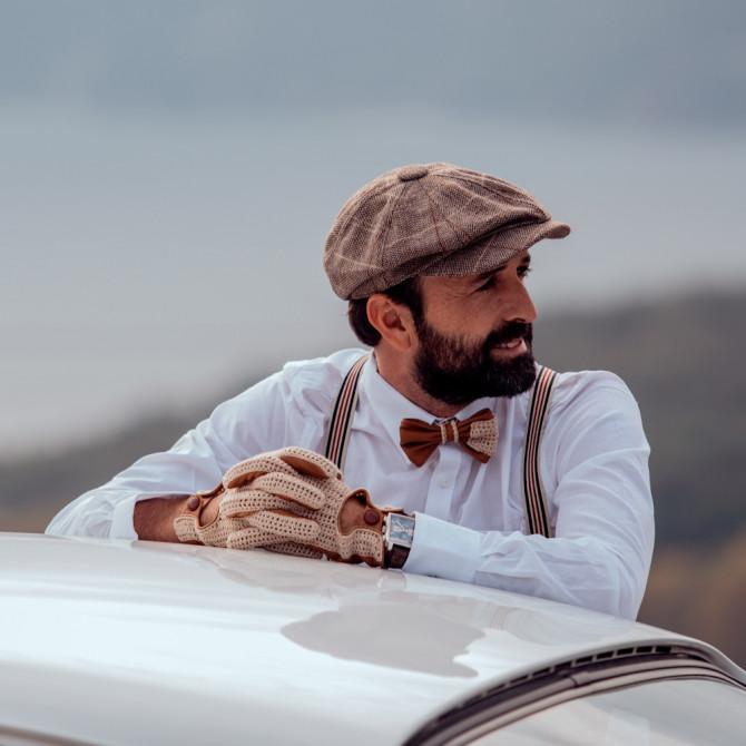 Gant cuir de conduite - L'intemporel homme personnalisable