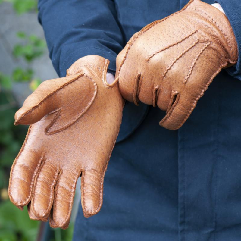 Didso Paire de gants en cuir de porc pour homme