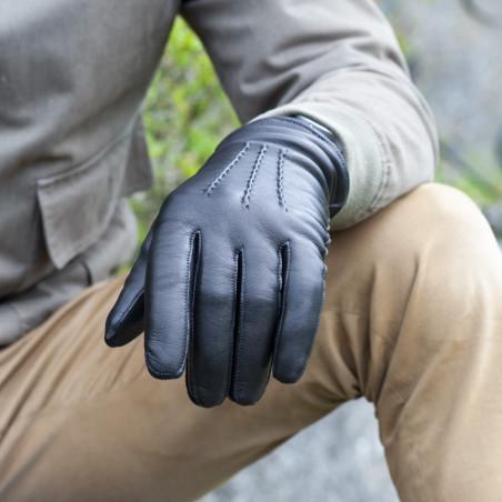 L'Indispensable - Gant cuir homme