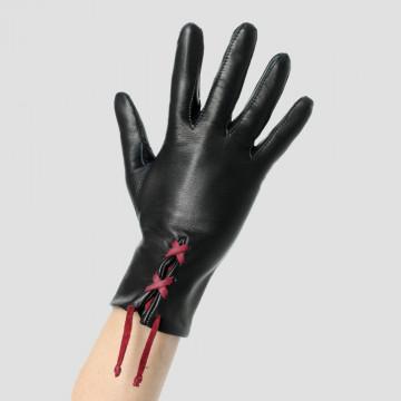Gant cuir personnalisable avec lacet - Le séducteur dame