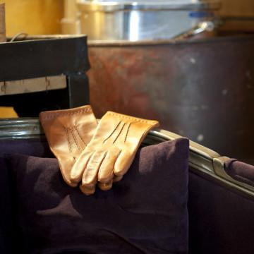Gant classique en cuir pour homme - Le Déterminé teinte noisette